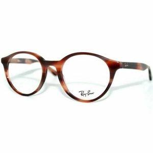 Ray-Ban Round RX Eyeglasses Tortoise W/Demo Lens